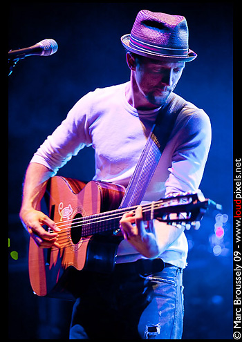 Jason Mraz at the Hammersmith Apollo, 5 April 2009
