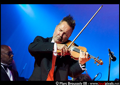 Nigel Kennedy at the Tower Of London, 10 Sept. 2009