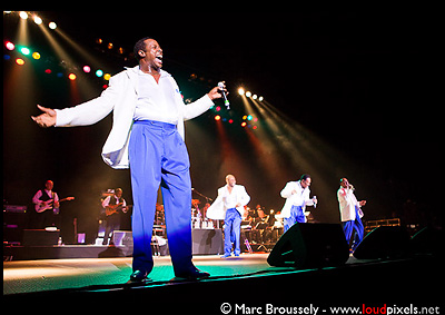 The Four Tops at the O2 Arena March 26 2010