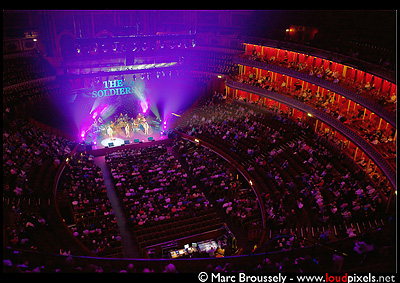 The Soldiers at the Royal Albert Hall in London, April 4 2010