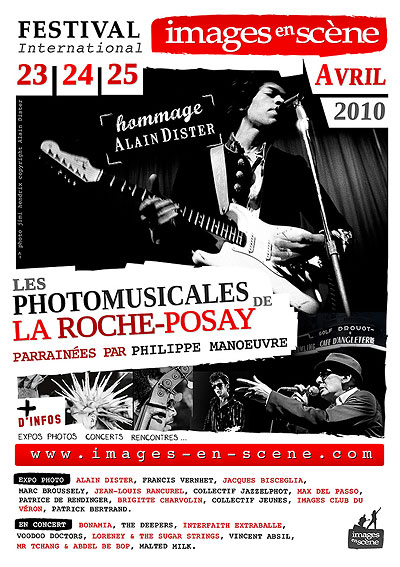 Festival Images En Scene, Music Photography at La Roche Posay this very weekend!