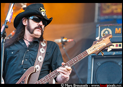 Motorhead performing at Hellfest, CLisson, France, 19 June 2010