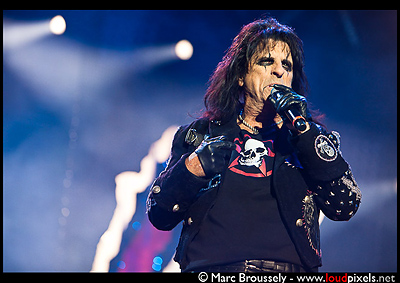 Alice Cooper at Hellfest, CLisson, France, 19 June 2010