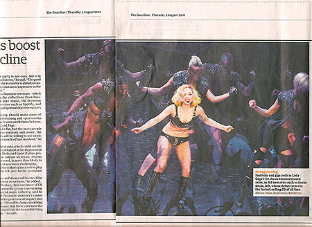 My Lady Gaga in yesterday's Guardian