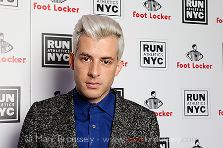 Mark Ronson at Rev Run's party, London Sept 21 2010