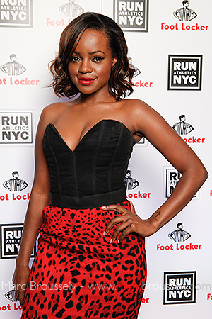 Keisha Buchanan at Rev Run's party, London Sept 21 2010
