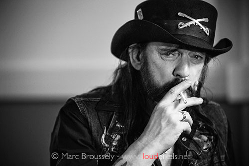 Lemmy of Motorhead - Backstage at Brighton Center, 28 November 2010