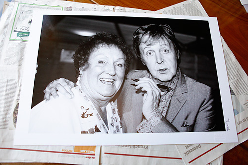 Digigraphie print of McCartney & Rita - for Cancer Research UK