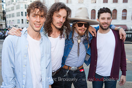 Razorlight at St Martin In The Field's courtyard, 24 May 2011