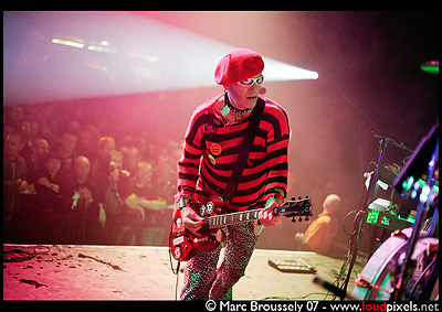 The Damned - Texas Chainsaw Travelling Horror Picture Show - London Forum - 30-11-07