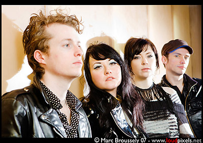 Sons And Daughters - Artrocker Photoshoot